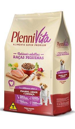 Plennivita Cães Pequeno Porte Frango e Linhaça 1kg
