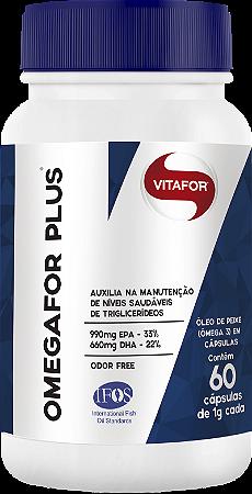 Ômega for Plus 60 Cápsulas Vitafor
