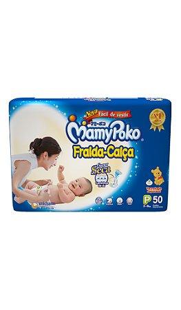 Fralda Calça MamyPoko Tamanho P – 50 unidades