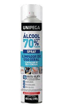 Álcool 70% Spray 400ml/290g