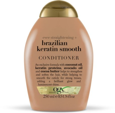 Condicionador Ogx Brazilian Keratin Smooth - 250mL