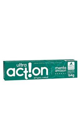 Ultra Action Creme Dental Vegano Menta Amazon 164g