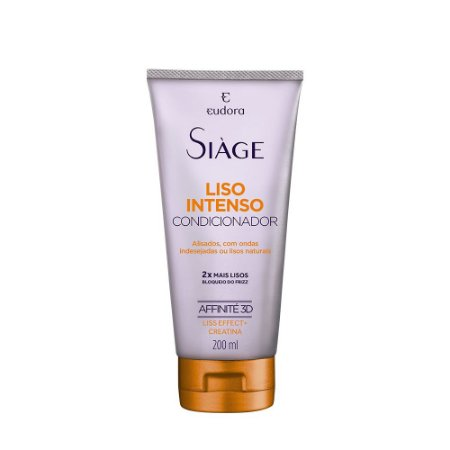 Condicionador Siàge Liso Intenso 200ml