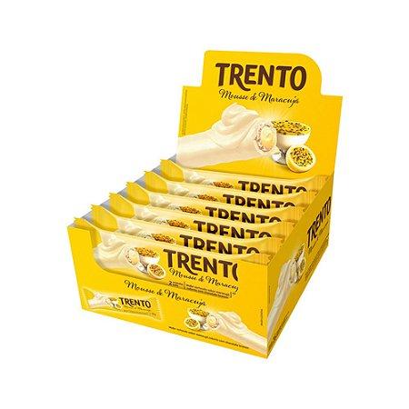Trento Wafer Mousse De Maracujá Display Com 16un