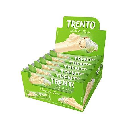 Trento Wafer Torta De Limão Display Com 16un
