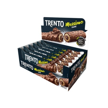 Trento Wafer Massimo Dark Com 16un