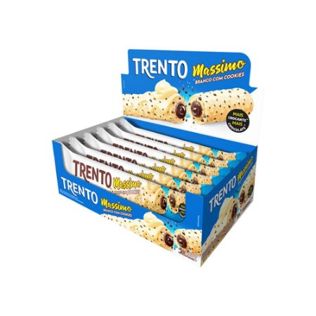 Trento Wafer Massimo Cookies Com 16un
