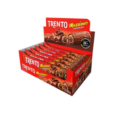 Trento Wafer Massimo Chocolate Com 16un