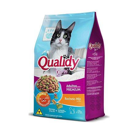Qualidy Dia a Dia Gato Adulto Recheio Mix 10,1 kg