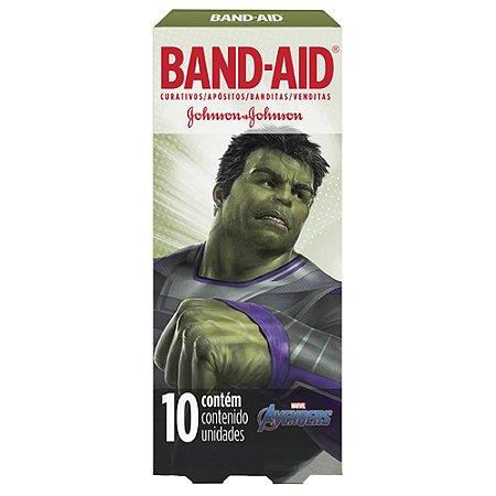 Band Aid Curativo Avengers - 10 Unidades