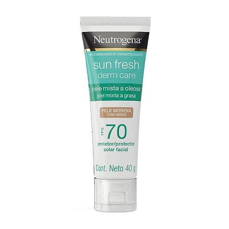 Sun Fresh Derm Care Pele Morena FPS 70 40gr