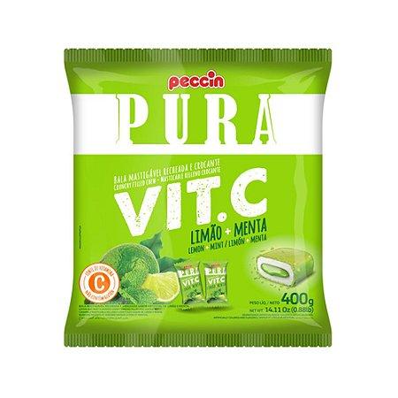 Bala Pura Vit. C Limão e Menta 400g