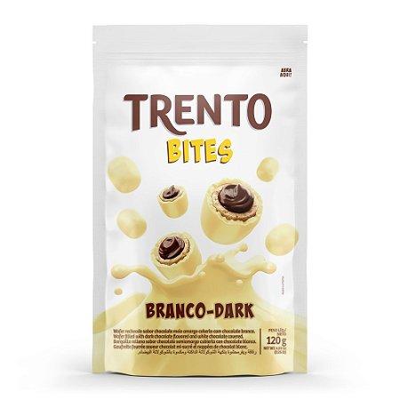 Trento Wafer Bites Branco Dark Stand Up Pouch 120g