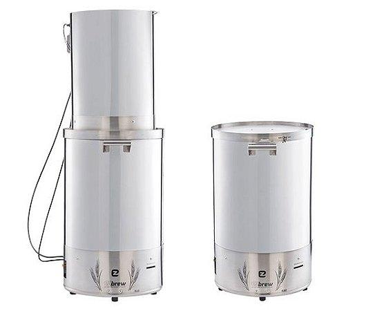 Panela Automatizada 150L Double Vessel EZbrew K150 Inox 304L