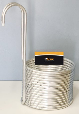"""Chiller de imersão Aluminio 1/2"""" 15 metros"""
