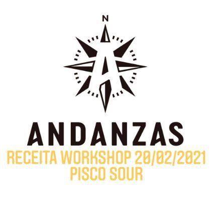 Kit receita Pisco Sour by Chico Milani Cervejaria Andazas (Workshop YouTube 20/02/2021)
