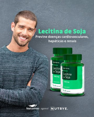LECITINA DE SOJA 500 MG 60 CAPS