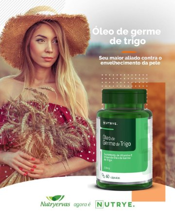 OLEO DE GERME DE TRIGO 60 CAPS