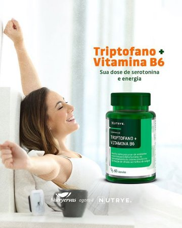 TRIPTOFANO + B6  60 CAPS