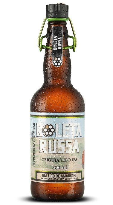 Cerveja Roleta Russa American IPA - 500 ml