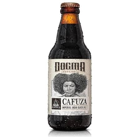 Cerveja Cafuza Imperial India Black Ale - 310ml