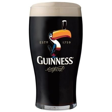 Copo cerveja Guinness Draught - 450ml