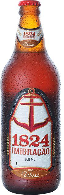 Cerveja 1824 Imigração Weiss - 600ml