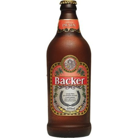 Cerveja Backer Pilsen - 600 ml