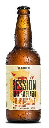 Cerveja Perro Libre Session Indian Pale Lager - 500ml
