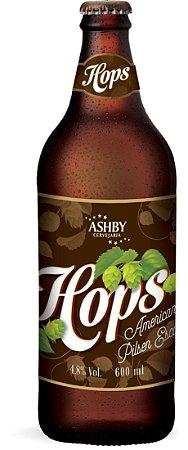 Cerveja Ashby Pilsen Hops Escura - 600ml