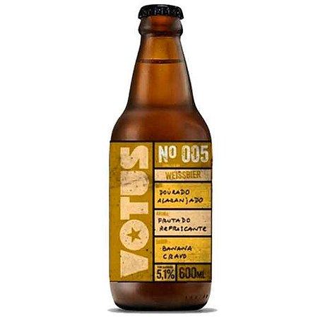 Cerveja Votus N°005 Weissbier - 330ml