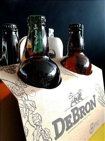 Kit DeBron - 4 cervejas DeBron American IPA - 500ml
