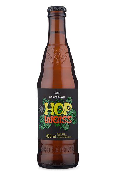 Cerveja Bodebrown Hop Weiss - 330ml