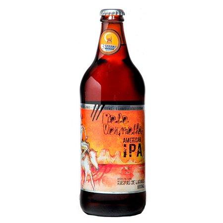 Cerveja Backer Pele Vermelha American IPA - 600ml