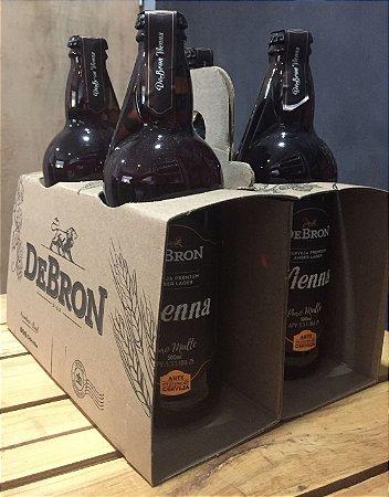 Kit DeBron - 4 cervejas Debron Vienna Lager - 500ml