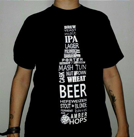 Camiseta Brew, Yeast & Malt