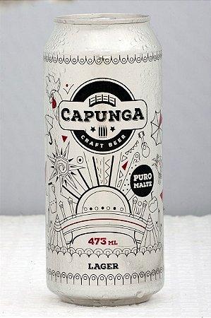 Cerveja Capunga American Lager Lata - 473ml