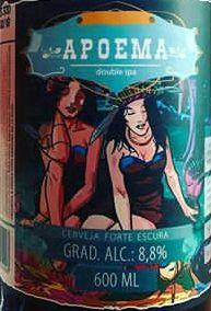 Cerveja Moocabier Apoema Double IPA - 600ml