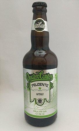 Cerveja Quatro Cantos Prudente Witbier - 500ml