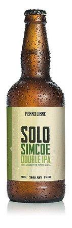 Cerveja Perro Libre Solo Simcoe DIPA - 500ml