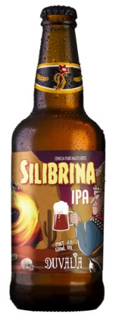 Cerveja Duvália Silibrina IPA - 500ml