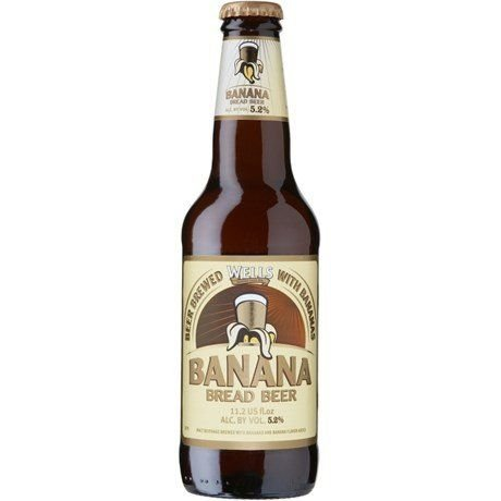 Cerveja Wells Banana Bread - 330ml