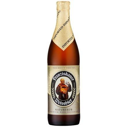 Cerveja Franziskaner Hefe-Weissbier Hell - 500ml