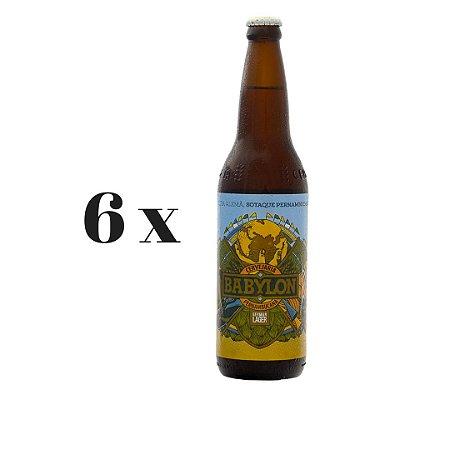 Caixa 6 Cervejas Babylon German Lager - 600ml