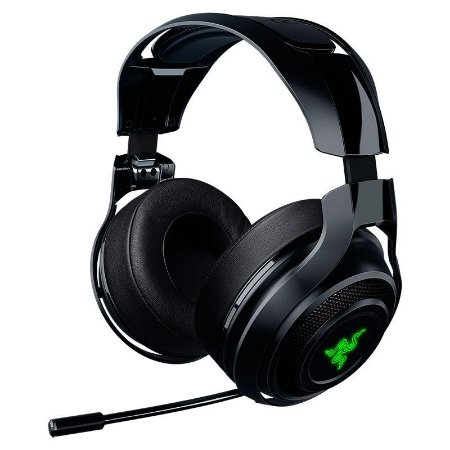 Headset Gamer Razer ManO'War 7.1 Surround Wireless