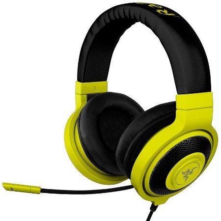 Headset Gamer Razer Kraken Pro Neon Yellow - RZ04-00871000-R3M1