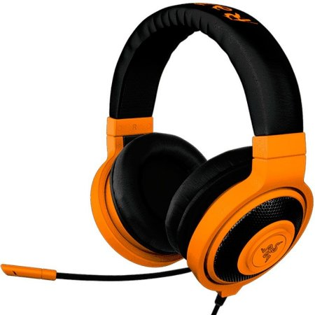Headset Gamer Razer Kraken Pro Neon Orange - RZ04-00871100-R3M1
