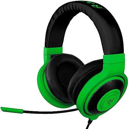 Headset Gamer Razer Kraken Pro Neon Green - RZ04-00870900-R3M1