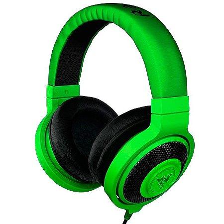 Headphone Gamer Razer Kraken Green - RZ12-00870100-R3M1