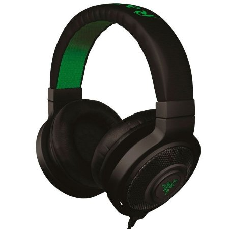 Headphone Gamer Razer Kraken Black - RZ12-00870200-R3U1